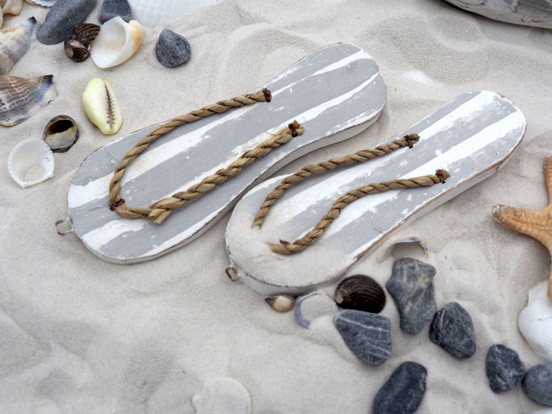 Tischdeko Maritim Streudeko MIX Maritim Sand Muscheln Seesterne Steine Fische Grau Zehentrenner gestreift Deko 650g