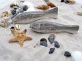 Tischdeko Maritim Streudeko MIX Maritim Sand Muscheln Seesterne Steine Fische Grau Zehentrenner gestreift Deko 650g 3