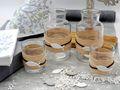 Tischdeko Kommunion Konfirmation Grau Natur Baum des Lebens Fisch SET 20 Personen 2