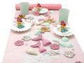 Tischdeko Kindergeburtstag Meerjungfrau Mädchen Geburtstag Rosa Mint Party Maritime Deko  1