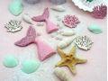 Tischdeko Kindergeburtstag Meerjungfrau Mädchen Geburtstag Rosa Mint Party Maritime Deko  2