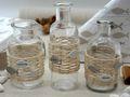 Tischdeko Kommunion Konfirmation Fisch Glaube Beige Natur Vasen Streudeko SET 20 Personen  7