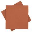 Servietten Tischdeko Rost Orange Terracotta Kommunion Konfirmation Hochzeit Party 40x40 cm 25 Stück 1