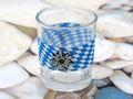 Teelichthalter Oktoberfest Edelweiß Bayrisch Raute Tischdeko Teelichtgläser Deko Party Geburtstag 2 Stück 3