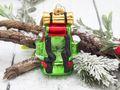 Christbaumschmuck Weihnachtsbaumschmuck Rucksack Camping Wandern Glas Ornament 11cm Weihnachten Deko Anhänger 4