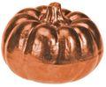 Deko Figur Kürbis Metallic Herbstdeko Herbst Tischdeko Keramik 7cm Klein 5