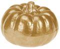 Deko Figur Kürbis Metallic Herbstdeko Herbst Tischdeko Keramik 7cm Klein 6