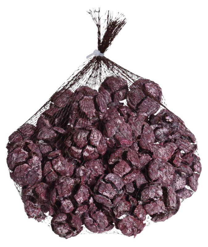 Streudeko Herbst aus lila Zypressen Zapfen im 300g Beutel für Herbst und WInterdekorationen