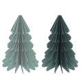 Weihnachtsbaum Papierbaum Grüntöne Tannenbaum Weihnachtsdeko Deko 23cm Klein 1