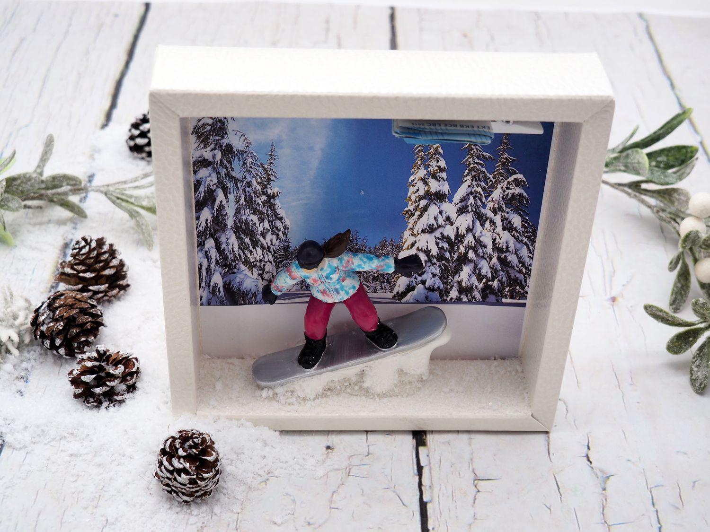 Geld verschenken Zuschuss Snowboard als Geschenk Gutschein Geldgeschenkverpackung Geburtstagsgeschenk Winterurlaub