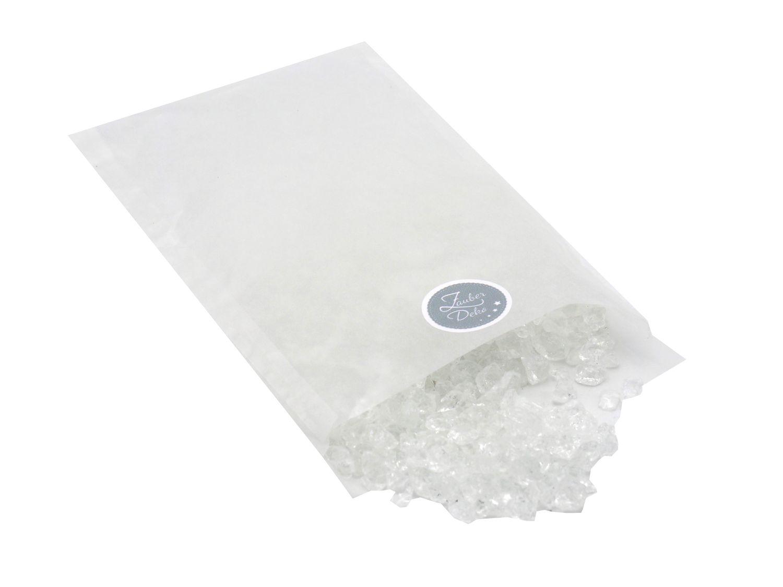 500g Glassteine Crushed Ice Streudeko Tischdeko Hochzeit Konfirmation Taufe Kommunion