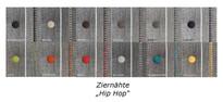MOBITEC / Stuhl Modell SODA H47-A / Stoff Hip Hop / Holzbeine / Kontrastnähte  Bild 6