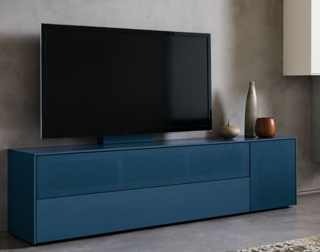 wk wohnen tv medienboard modell wk 419 intono soundbar. Black Bedroom Furniture Sets. Home Design Ideas