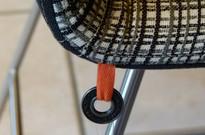 MOBITEC Stuhl Modell Pamp bi / 6er Set /Metallkufen Details