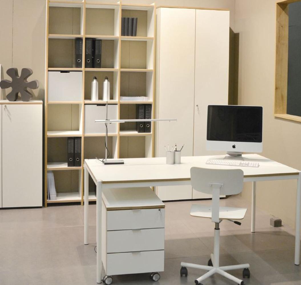 REINHARD Büromöbel / 5-tlg. / Modell ARCHIVAR / weiss | Werkshagen