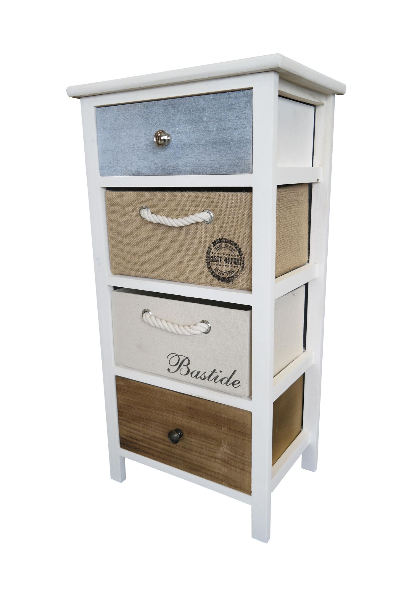 kommode schrank mit schubladen bunt landhaus shabby chic. Black Bedroom Furniture Sets. Home Design Ideas