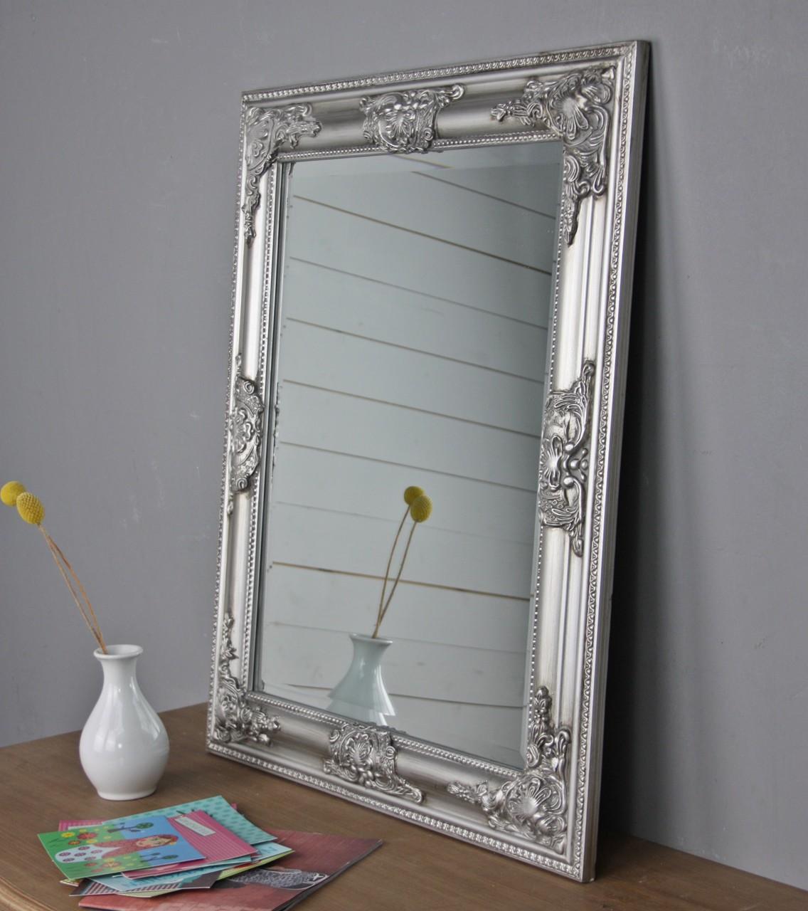 spiegel silber barock g nstige landhausm bel online. Black Bedroom Furniture Sets. Home Design Ideas
