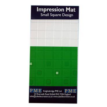 PME Strukturmatte mit kleinen Karos – Impression Mat Small Square Design