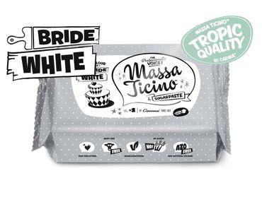 Massa Ticino Tropic weißer Rollfondant 7 x 1 kg