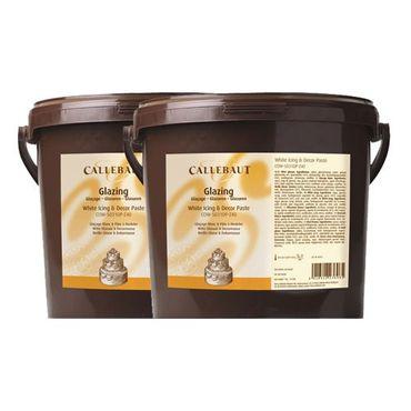 Callebaut White Icing weißer Rollfondant 2 x 7kg – Bild 1