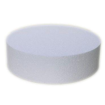 Dummie aus Styropor rund 40 cm, 7 cm hoch