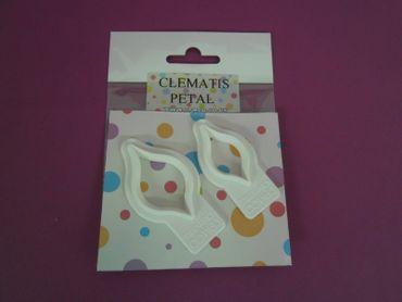 Clematis Blütenblatt Ausstecher – Clematis Petal Cutter