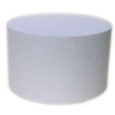 Dummie aus Styropor rund 20 cm, 15 cm hoch – Bild 1