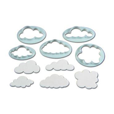 FMM Wolken - Ausstecherset, 5 teilig
