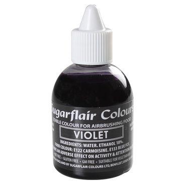 Sugarflair Airbrushfarbe Violet - Violett