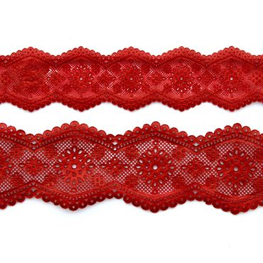 Broderie Anglaise - Claire Bowman Silikonmatte für essbare Spitze - Cake Lace Mat