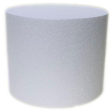 Dummie aus Styropor rund 15 cm, 20 cm hoch – Bild 1