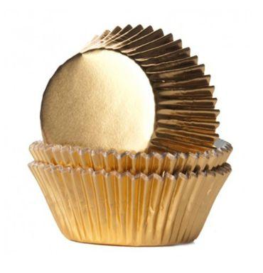 PME Muffin und Cupcake Förmchen gold 30 Stk. – Bild 1