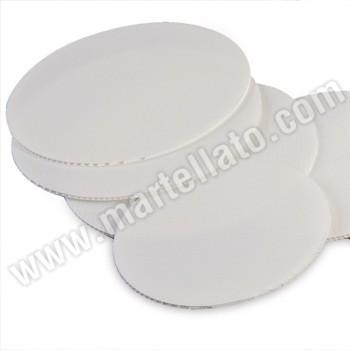 5er Paket weiße Trennplatten, rund 20 cm – Bild 1