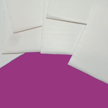 5er Paket weiße Trennplatten - quadratisch 25 x 25 cm