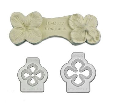Hortensien Ausstecher und Veiner Set Set - Hydrangea Cutter and Veiner