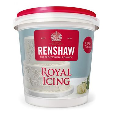 Renshaw Royal icing - Ready to use- Eiweißspritzglasur 400 g – Bild 1