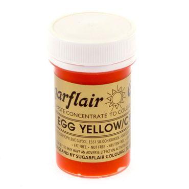 Sugarflair Pastenfarbe Egg Yellow - Eigelb – Bild 2