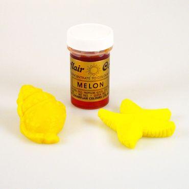 Sugarflair Pastenfarbe Melon - Melonengelb