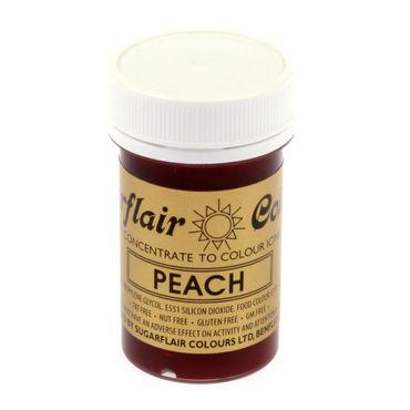 Sugarflair Pastenfarbe Peach  - Pfirsich
