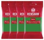 Renshaw Rollfondant Extra Green - Grün 4 x 250 g  001