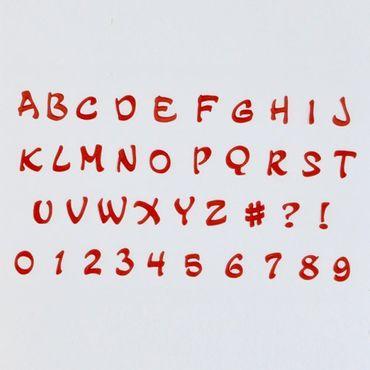 FMM Magical Großbuchstaben und Zahlen Ausstecher – 3 teilig
