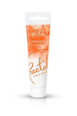 Fractal Fullfill Gelfarbe Orange