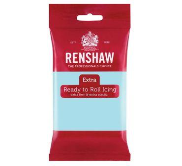 Renshaw Rollfondant Extra Duck Egg Blue - Hellblau 250 g
