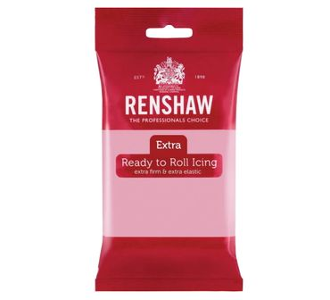 Renshaw Rollfondant Extra Pink - Rosa 250 g
