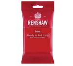 Renshaw Rollfondant Extra Red - Rot 250 g  001