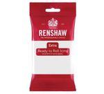 Renshaw Rollfondant Extra White - Weiß 250 g  001