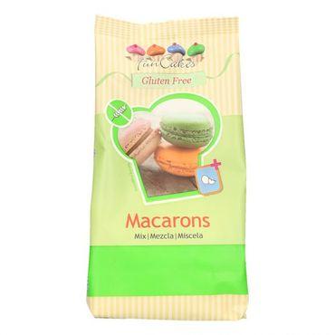 FunCakes Macarons Mix glutenfrei 400 g Fertigmischung für Eiweiß Spritzglasur 900 g – Bild 1