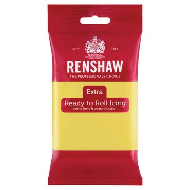 Renshaw Rollfondant Extra Pastel Yellow - Pastellgelb 250 g
