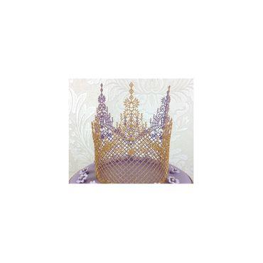 Silikonmatte für essbare Spitze -Ophelia - Claire Bowman Cake Lace Mat – Bild 3