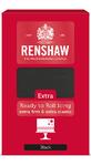 Renshaw Rollfondant Extra Black - Schwarz 1kg  - neu - 001